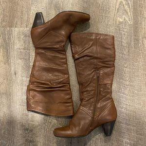 Aldo Leather Slouchy Boots